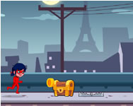 Super Miraculous Ladybug running adventure online