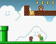 Super Mario Flash ingyen online  mászkálós